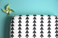 Hey, I found this really awesome Etsy listing at http://www.etsy.com/listing/130059049/fitted-crib-sheet-in-triangle-row-on