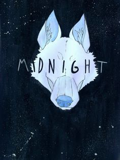 Coldplay's Midnight on Ghost Stories. I love this, that wolf. :)