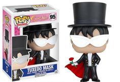 Product Info Fighting evil by moonlight, winning love by daylight, never running from a real fight! This Sailor Moon Tuxedo Mask Pop! Vinyl Figure features Mamoru Chiba in his super-powered form! Stan