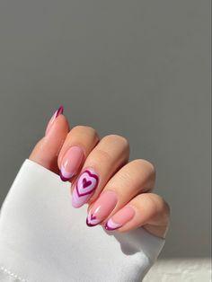 Manicure Nail Designs, Nail Manicure, Gorgeous Nails, Pretty Nails, Asian Nails, Les Nails, Acylic Nails, Edgy Nails, Fire Nails