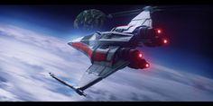 Star Wars Incom X-14 Twin Suns by AdamKop.deviantart.com on @deviantART