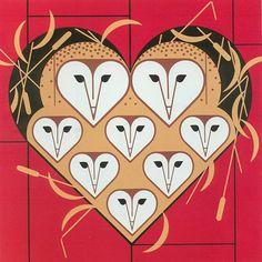 Charley Harper owl art