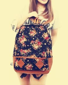 Floral Cute Bags Canvas Vintage Backpack Kawaii girls gift sold by Cute Kawaii {harajuku fashion}. Shop more products from Cute Kawaii {harajuku fashion} on Storenvy, the home of independent small businesses all over the world.