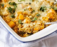This butternut squash casserole is one of my all time most popular recipes! Easy to make and so delicious, this is a meal the whole family will love!