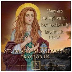 "Mary Magdalene beheld Christ crucified and the first to see the empty tomb. ""Christ, my hope, has risen!"" This she proclaimed to the apostles."