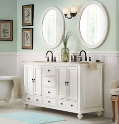Vanity & color inspiration for main bathroom.