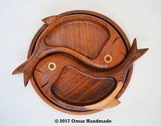 Omar_Handmade / Drevené misky Rybičky