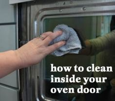 Cleaning Oven Glass Door Simple 54 New Ideas House Cleaning Tips, Diy Cleaning Products, Cleaning Solutions, Spring Cleaning, Cleaning Hacks, Cleaning Lists, Cleaning Checklist, Organizing Tips, Cleaning Oven Glass
