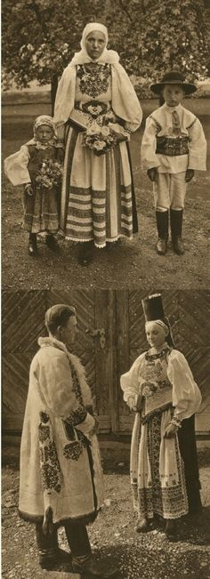Mirifica Romanie in Alb Si Negru - 1933 Folk Costume, Costumes, Romanian People, Interwar Period, Gypsy Life, World Cultures, First World, Old Photos, Traditional