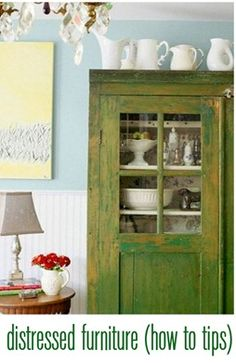 how to distress furniture - How to Tips