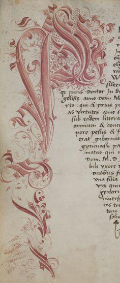 Basel, Universitätsbibliothek, AN II 3: Livre des matricules du rectorat de l'Université de Bâle, vol. 1 (1460-1567) · Langue: Latin (http://www.e-codices.unifr.ch/fr/list/one/ubb/AN-II-0003)
