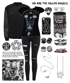 """""""Black Veil Brides"""" by musiciseverything ❤ liked on Polyvore featuring Topshop and Samsung"""