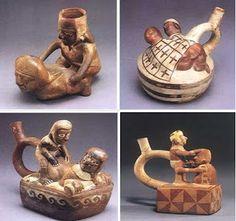 La cultura Mochica, llamada tambien cultura Moche , es una cultura precolombina que se extendió a lo largo de la costa norte del Perú, aprox...