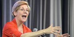 Elizabeth Warren Defends Israeli Shelling of Gaza Schools, Hospitals