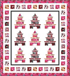 Free Pagoda quilt pattern