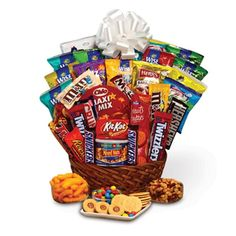 big candy arrangements gift basket