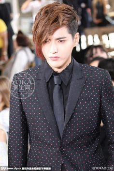 Kris Wu YiFan @ París Fashion Week 150626