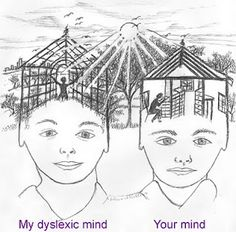 Dyslexia article post that contains good animation of how it may be to have dyslexia