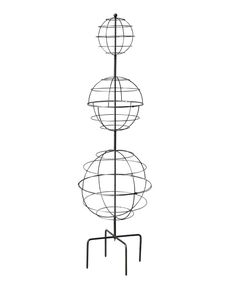 Triple Sphere Topiary Frame - Topiary Forms - Wire Topiary