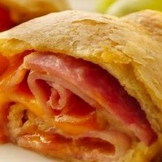 Ham and Cheese Crescent Rollups