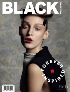 Covers of Black Magazine with Franzi Mueller, 000 2012 | Magazines | The FMD