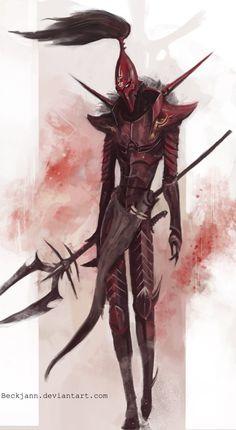 Dark Eldar: Where are you? by Beckjann