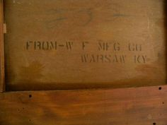 Makers label Dining Table With Drawers, Pedestal Dining Table, Label, Antiques, Antiquities, Antique
