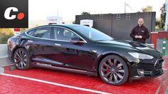 Probamos la berlina eléctrica de Tesla, un sedán deportivo que cada vez cuenta con más puntos de carga Tesla Supercharger. Fuente:coches.net