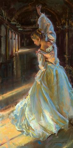 a repin of art by Daniel F. Gerhartz