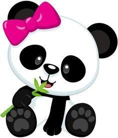 Resultado de imagen para dibujos de osos panda a lapiz