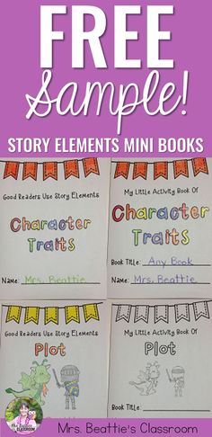 """Looking for a fun way to teach story elements? This """"Good Readers"""" package is… Teaching Plot, Teaching Activities, Teaching Reading, Teaching Ideas, Learning, Ela Classroom, Classroom Resources, Classroom Organization, Reading Workshop"""