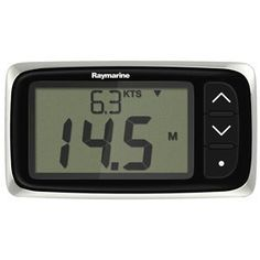 """Raymarine i40 Bidata Display System by Raymarine. $215.48. Shape NONE. Screen Size 3.7"""". Load Equivalence # (LEN) NONE. Digital/Analog Digital. i40 SeaTalk Instruments - BidataCompact and feature-packed instruments, the i40 series instruments are smart choice for boaters looking high performance and great value.The i40 series is simple to operate thanks to the use of just three control buttons, i40 has extra-large digits and razor-sharp LCD displays and red backlighti..."""