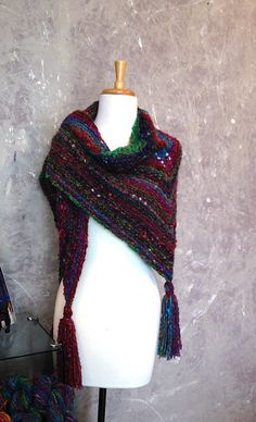 Ravelry: Now and Forever Wrap pattern by Lynne Warren