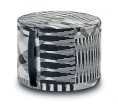 Missoni Patch #601 Pouf by Spence & Lyda <3