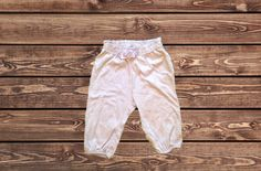 Girls Soft Pants (Size: 3-6 Months)