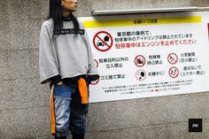 StreetStyle of Yasuyuki Asano wearing Tigran Avetisyan during Tokyo Fashion Week SpringSummer 2016.