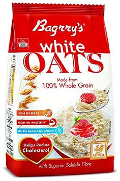 Bagrry's White Oats 1kg Pouch with free Bagrry's White Oats 200g    Bagrry's White Oats 1kg Pouch with free Bagrry's White Oats 200g INR 190.00 View Details  8 of 8 people found the following review helpful   Large sized oats   By  VIJAYENDRA (Currently at Patna Bihar India) - See all my reviews  Verified Purchase(What is this?)  This review is from: Bagrry's White Oats 1kg Pouch with free Bagrry's White Oats 200g (Grocery)  Bagrry Oats is one of the best Oats out there. I have used other…