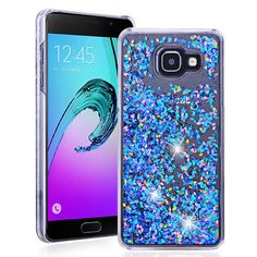 For Samsung Galaxy A5 2016 A7 2016  Phone Cases Dynamic Liquid Glitter Star Quicksand Colorful Sequin Hard Back cover A510 A710