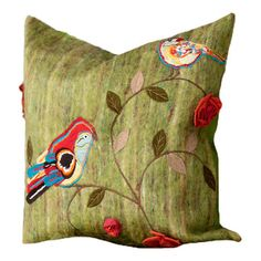 I pinned this Birds Pillow from the Home is Where the Heart Is event at Joss and Main!