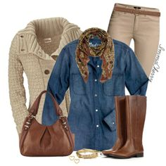 """Chambray"" by immacherry on Polyvore"