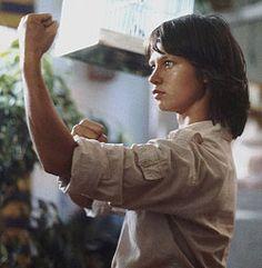 "Nóra Görbe as Veszprémi Linda in Hungary Tv series ""Linda"" Retro 1, Retro Vintage, Kung Fu, Hungary, My Childhood, Martial Arts, Tv Series, Nostalgia, Tv Shows"