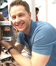 Josh with a Charming Funko Pop SDCC 2016