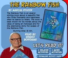 The Rainbow Fish: LOVE THIS!!!