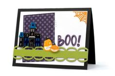Boo! card using the American Crafts Boo! line