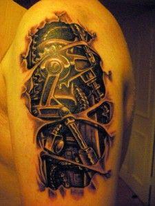 Steampunk Tattoo | Fairy Tattoo