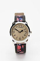 Floral watch. Soon to be present on the wrists of my sister and I. #sisterwatches