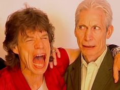 The Rolling Stones, Mick Jagger, Charlie Watts
