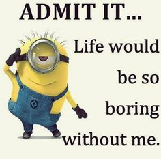 """Top 20 Despicable Me Minions Quotes – Super Hilarious Funny Memes And Jokes Scroll down and keep reading these """"Top 20 Despicable Me Minions Quotes – Super Hilarious Funny Memes And Jokes"""". Cute Minions, Minion Jokes, My Minion, Minions Quotes, Funny Minion, Despicable Me Memes, Minion Sayings, Minion Stuff, Evil Minions"""