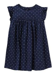 Dot flutter dress