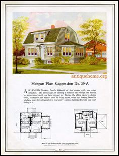 https://flic.kr/p/HPPcwg | Morgan House Plan Suggestions::Building with Assurance | Building with Assurance - 1923 www.antiquehome.org